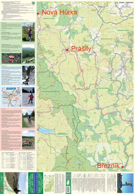 ... ukázka Náhled rozsahů mapy Šumava Pláně 1 25 000 ... 4c558b67e50f2